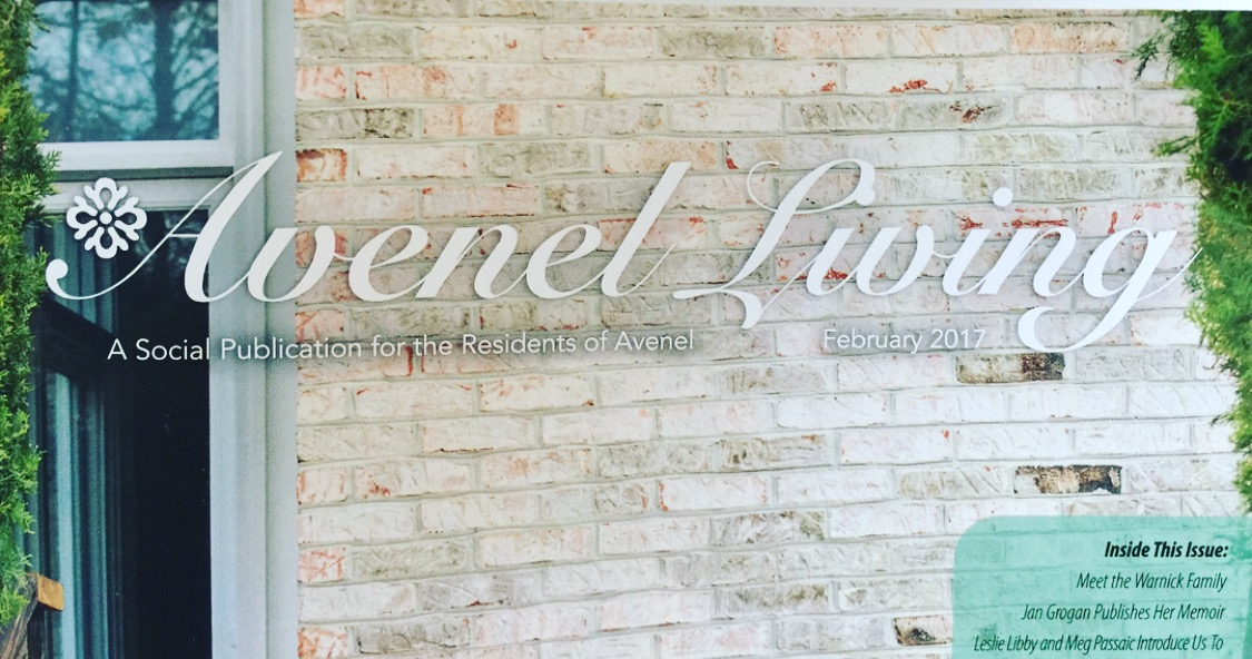Avenel Living | Shannon Bieter Interiors | Press